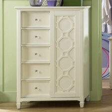 Cameron 5 Drawer Gentleman's Chest
