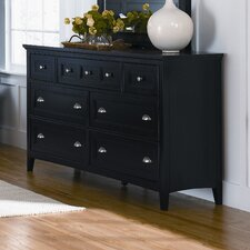 <strong>Magnussen Furniture</strong> South Hampton 7 Drawer Double Dresser