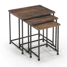 <strong>Magnussen Furniture</strong> Woodbridge 3 Piece Nesting Tables