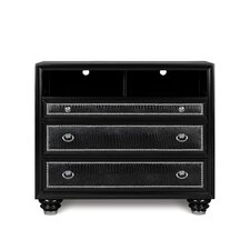 Onyx 3 Drawer Media Chest
