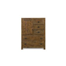 <strong>Magnussen Furniture</strong> River Ridge 5 Drawer Gentleman's Chest