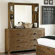 Braxton 6 Drawer Dresser with Mirror