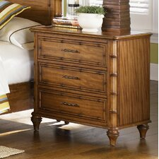 Palm Bay 3 Drawer Nightstand