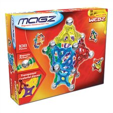 Webz 108 Piece Magnetic Kit
