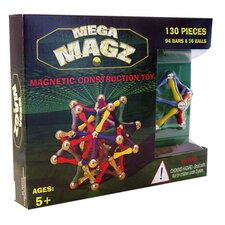 Mega Magz 130 Piece Magnetic Kit