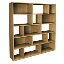 Betria Contemporary Asymmetric Bookcase