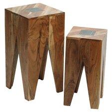Slate 2 Piece Nest of Tables