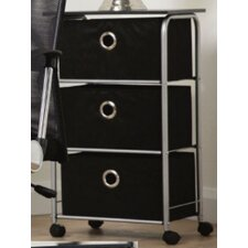Sbruffi 3 Drawer Mobile Storage Unit