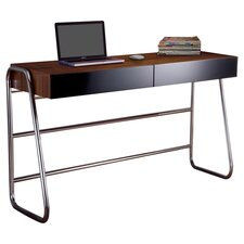Gloss 2 Drawer Writing Desk