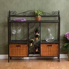 Irrawong Scrolled Bistro Wine Rack