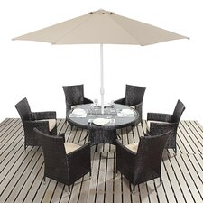 Riverton Round 6 Seater Dining Set