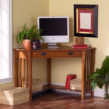 Bellara Corner Writing Desk with 1 Drawer