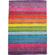 Traversa Striped Multi-coloured Rug