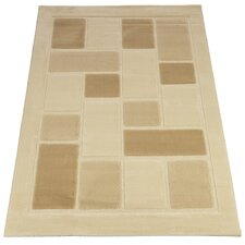 Visiona Soft Cream Contemporary Rug