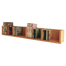 CD / DVD / VIDEO Media Wall Mounted Storage Shelf