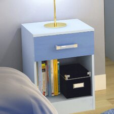 Marconie 1 Drawer Bedside Table
