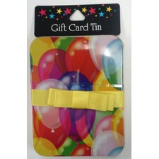 Balloon Gift Card Holder with Ribbon (Set of 6)
