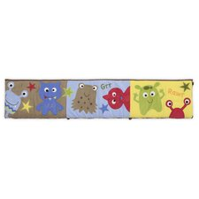 Banana Fish Baby Monster Crib Bumper