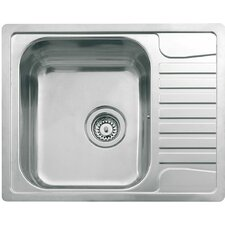 61.5cm x 49cm Kitchen Sink in Stainless Steel
