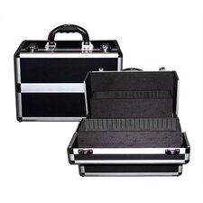 <strong>TZ Case</strong> Beauty Case with 3 Divided Sliding Trays & 6 Bottom Compartments