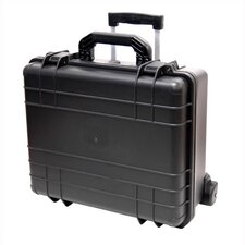 "<strong>TZ Case</strong> Cape Buffalo Case With Wheels: 9"" H x 18.5"" W x 16"" D"