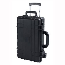 "Cape Buffalo Case With Wheels: 9"" H x 22"" W x 14"" D"