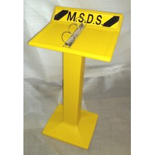 Wall-Mount MSDS Display