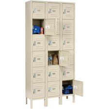 6 Tier 18 Door Locker