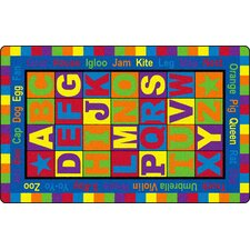<strong>Flagship Carpets</strong> ABC Words Kids Rug