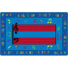 Fun with Music Kids Rug