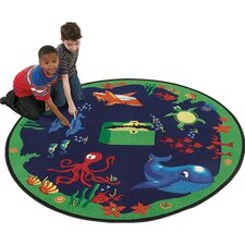 Educational Sea Hunt Kids Rug