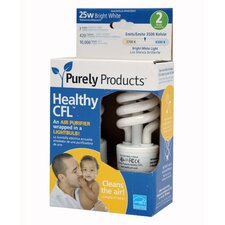 7W CFL Light Bulb (Set of 2)