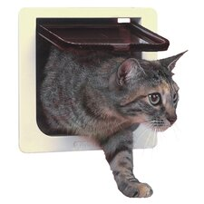 <strong>Perfect Pet by Ideal</strong> Cat Door with 4 Way Lock Pet Door