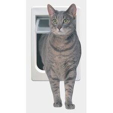 Tubby Kat with 4 Way Lock Pet Door