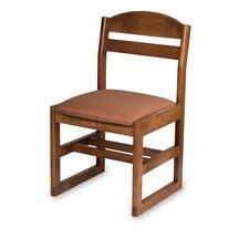 "Bennett 16"" Beechwood  Classroom Sled Chair"