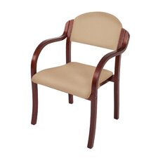"England Custom 18"" Beechwood Classroom Stacking Chair"