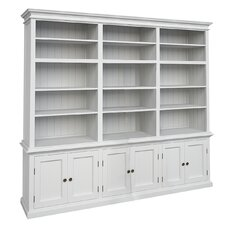 "Halifax Triple Tower Hutch 86.6"" Bookcase"