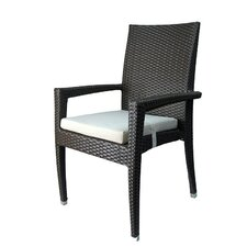 Venice Stacking Dining Arm Chair (Set of 6)