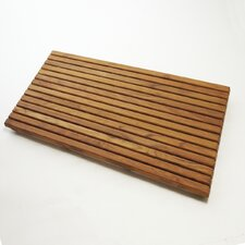 Le Spa Teak Floor and Shower Mat