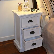 Halifax 3 Drawer Nightstand