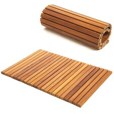 Le Spa Premium Plantation Teak Shower Mat