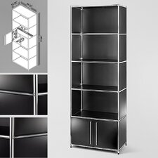 System4 Simpli 5 Compartment Bookcase