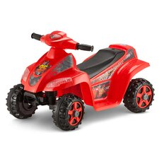 Cars OPP Toddler Quad 6V Battery Powered Car