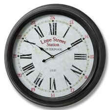 Lime Street Liverpool Wall Clock