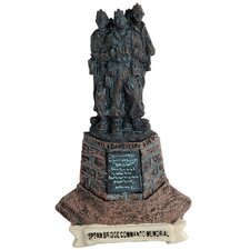 Commando Memorial Fridge Magnet Figurine