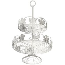 Ornate 2 Tier Cake Stand