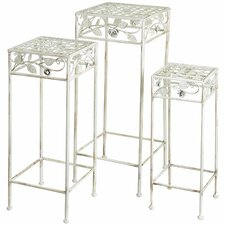 Square Plant Stand (Set of 3)