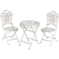 Kiddies 3 Piece Round Dining Set