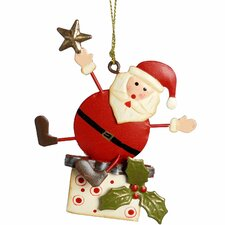 Hanging Santa Tree Christmas Decoration