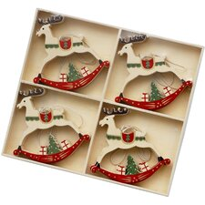 Reindeer Christmas Decoration (Set of 12)